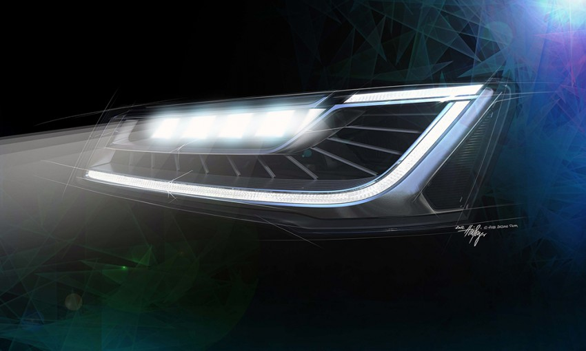 Audi Matrix LED headlamps to debut on next A8 Image #184192