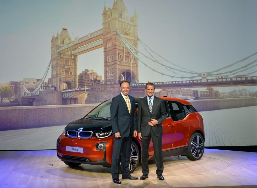 BMW i3 official debut – full details on BMW's new EV Image #190403