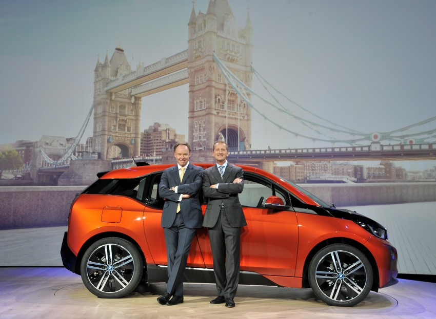 BMW i3 official debut – full details on BMW's new EV Image #190405