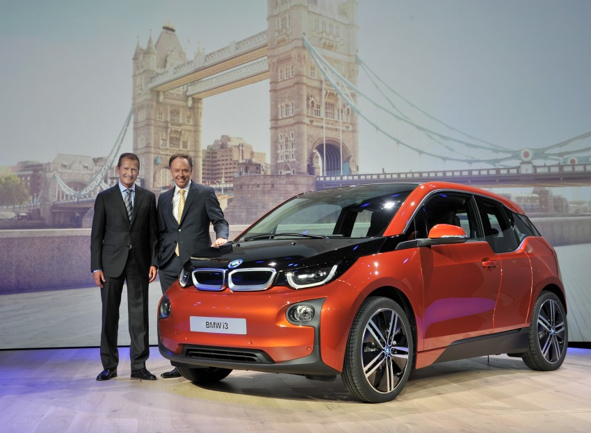 BMW i3 official debut – full details on BMW's new EV Image #190406