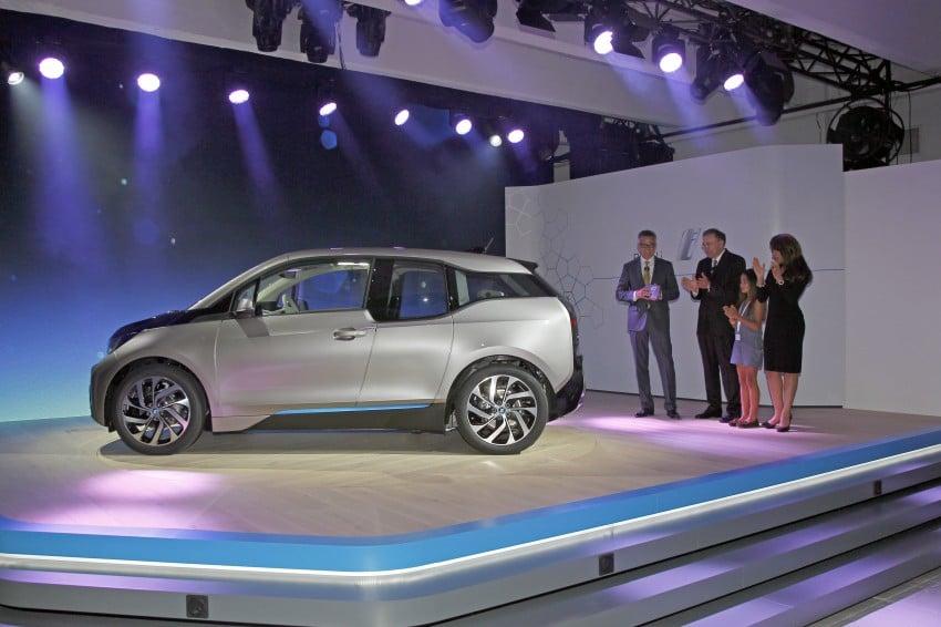 BMW i3 official debut – full details on BMW's new EV Image #190407