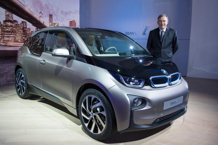 BMW i3 official debut – full details on BMW's new EV Image #190410