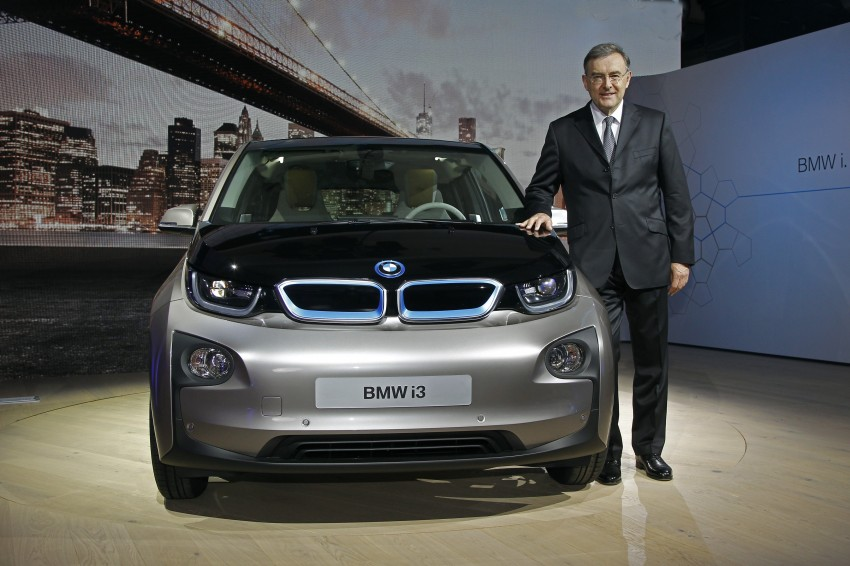 BMW i3 official debut – full details on BMW's new EV Image #190411