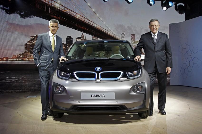 BMW i3 official debut – full details on BMW's new EV Image #190412