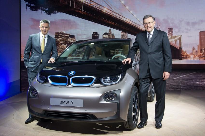 BMW i3 official debut – full details on BMW's new EV Image #190413
