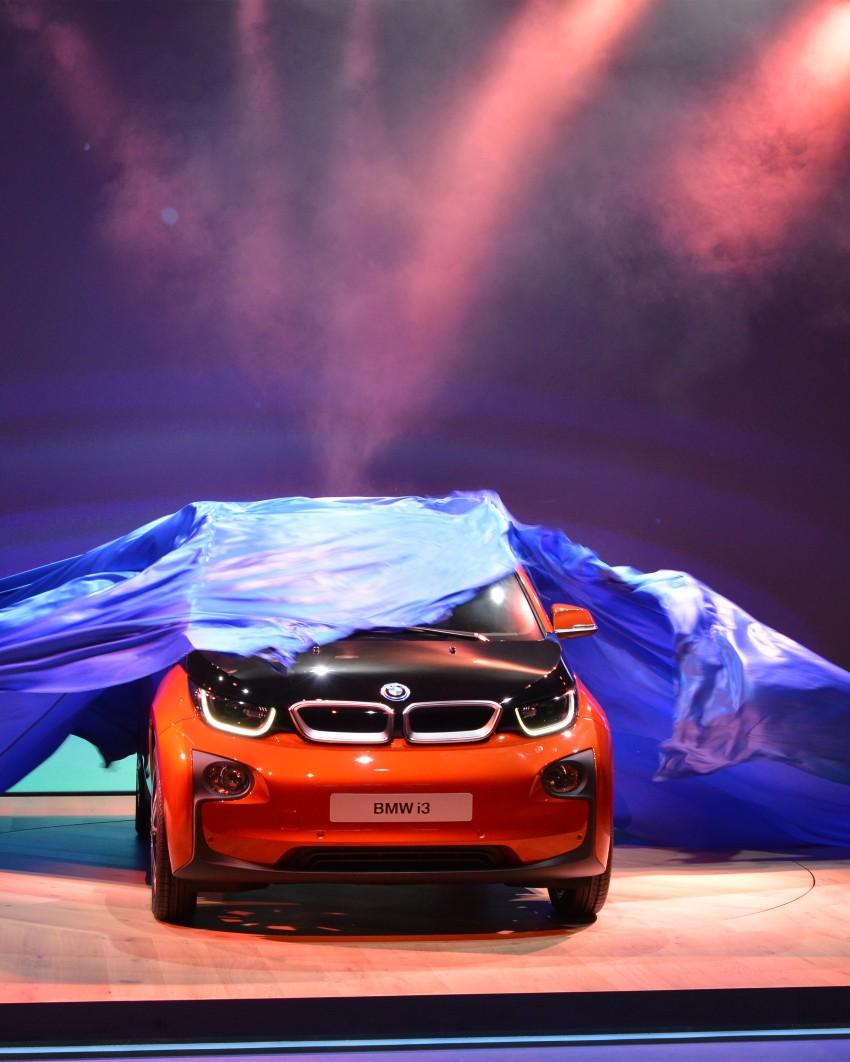 BMW i3 official debut – full details on BMW's new EV Image #190417