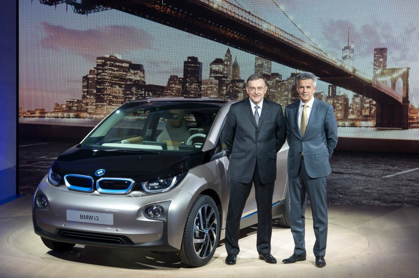 BMW i3 official debut – full details on BMW's new EV Image #190419