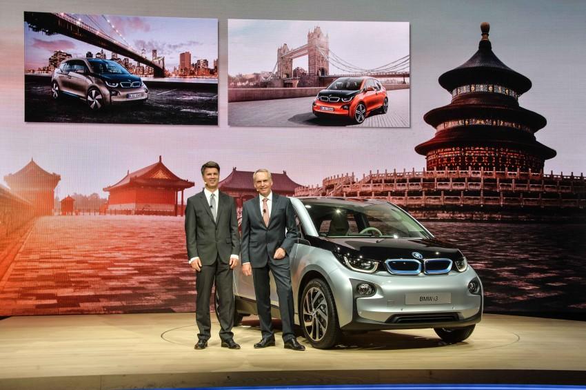 BMW i3 official debut – full details on BMW's new EV Image #190423