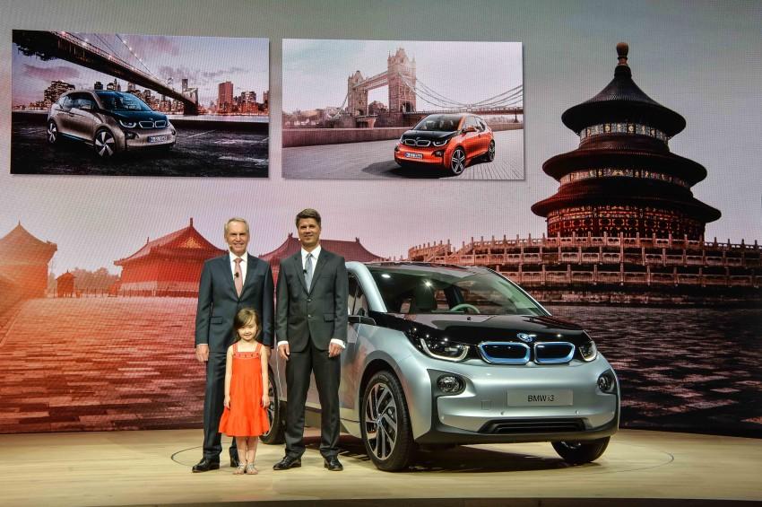 BMW i3 official debut – full details on BMW's new EV Image #190424