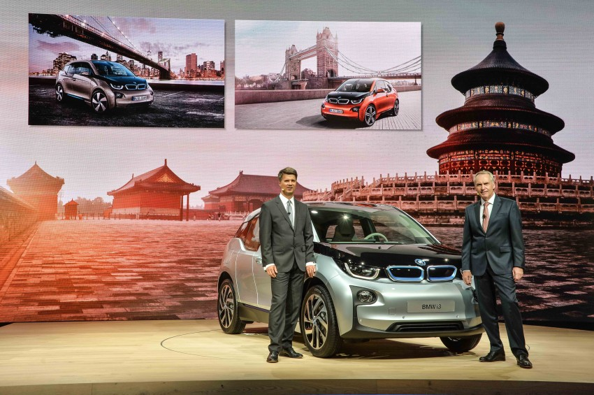 BMW i3 official debut – full details on BMW's new EV Image #190425