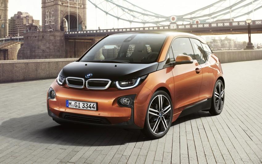 BMW i3 official debut – full details on BMW's new EV Image #190329