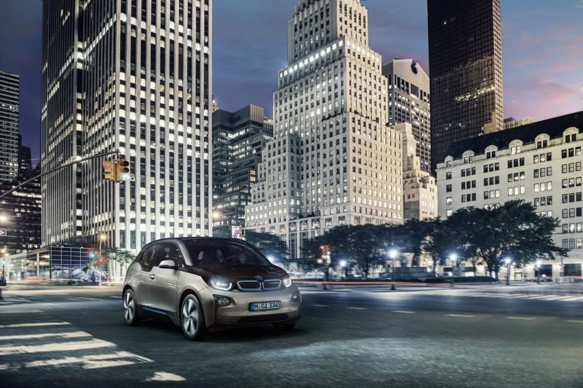 BMW i3 official debut – full details on BMW's new EV Image #190341