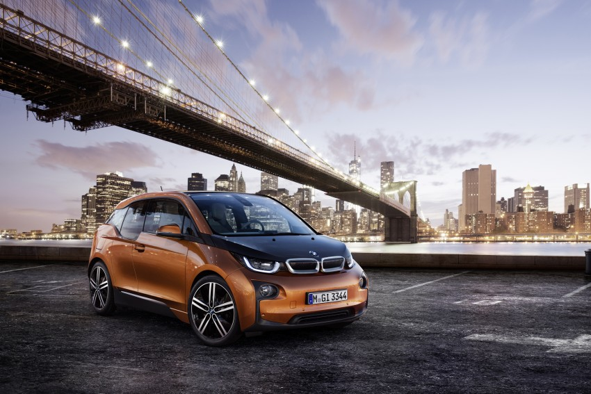 BMW i3 official debut – full details on BMW's new EV Image #190348