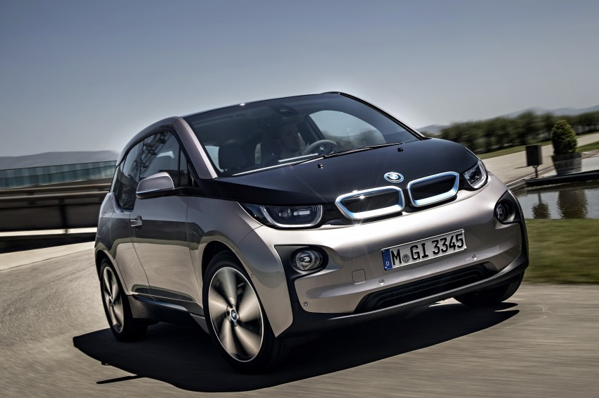 BMW i3 official debut – full details on BMW's new EV Image #190289