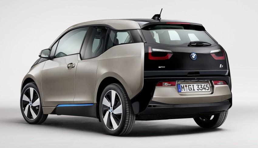 BMW i3 official debut – full details on BMW's new EV Image #190357