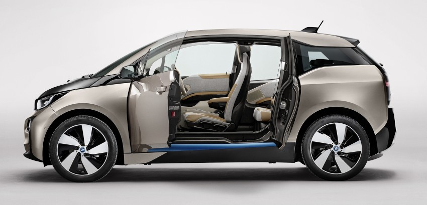 BMW i3 official debut – full details on BMW's new EV Image #190358