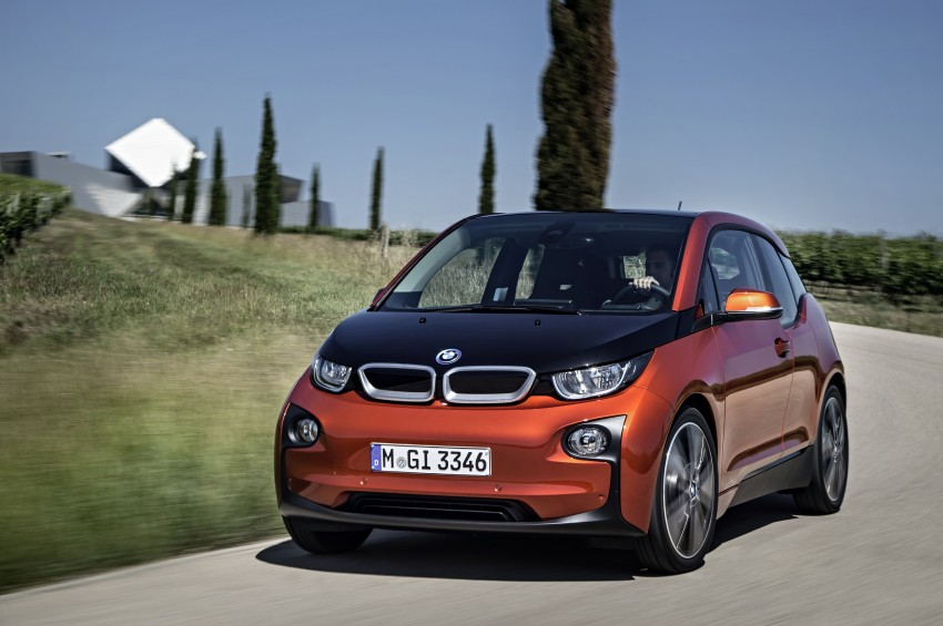 BMW i3 official debut – full details on BMW's new EV Image #190364