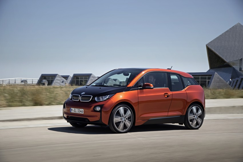 BMW i3 official debut – full details on BMW's new EV Image #190367