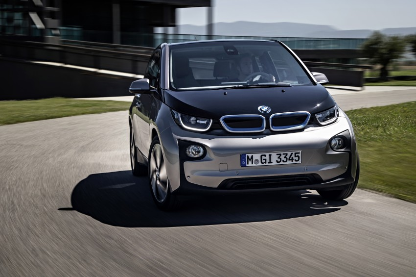 BMW i3 official debut – full details on BMW's new EV Image #190368