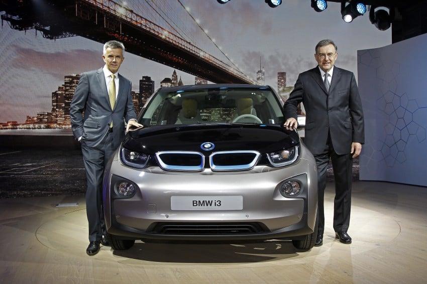 BMW i3 official debut – full details on BMW's new EV Image #190293