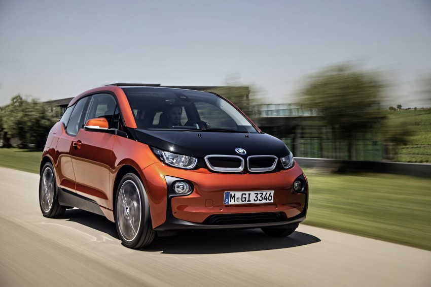 BMW i3 official debut – full details on BMW's new EV Image #190371