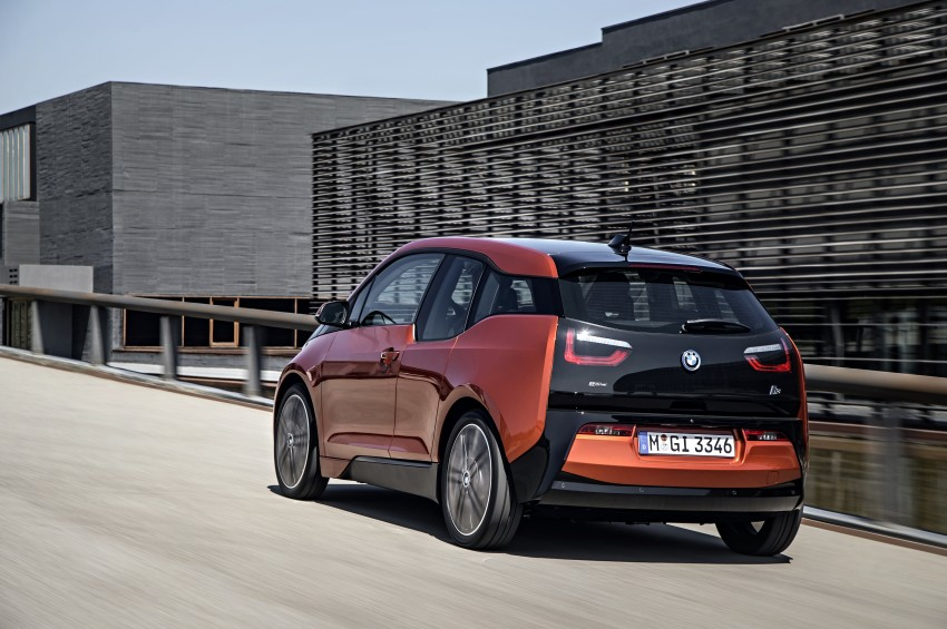 BMW i3 official debut – full details on BMW's new EV Image #190374