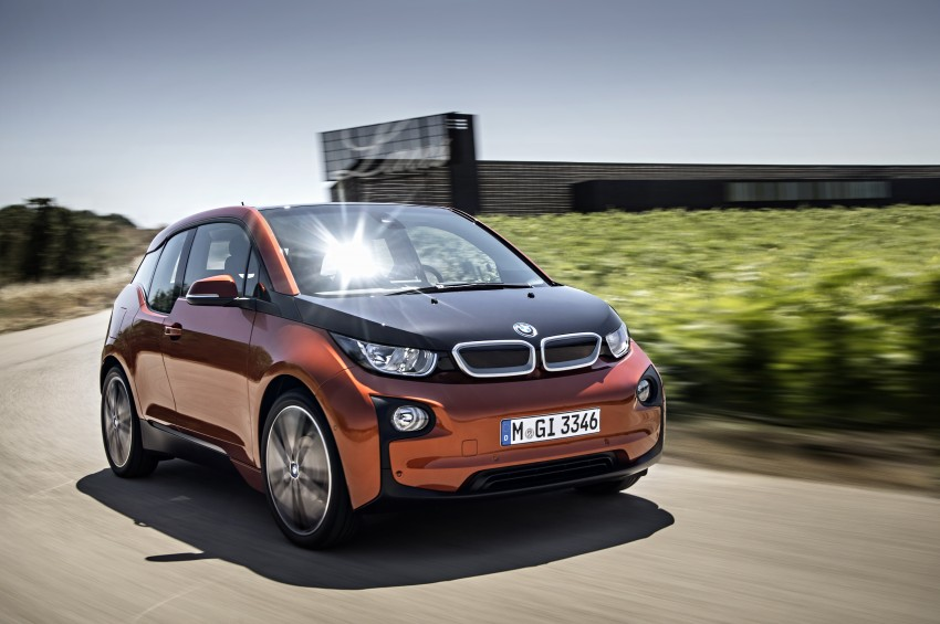 BMW i3 official debut – full details on BMW's new EV Image #190375