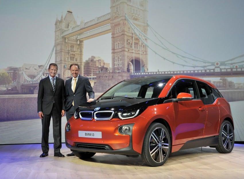 BMW i3 official debut – full details on BMW's new EV Image #190294