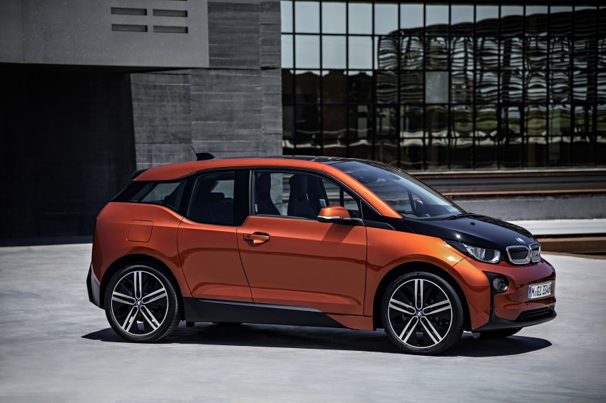 BMW i3 official debut – full details on BMW's new EV Image #190381