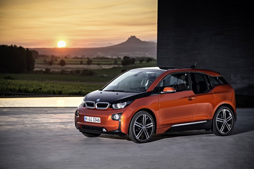 BMW i3 official debut – full details on BMW's new EV Image #190382