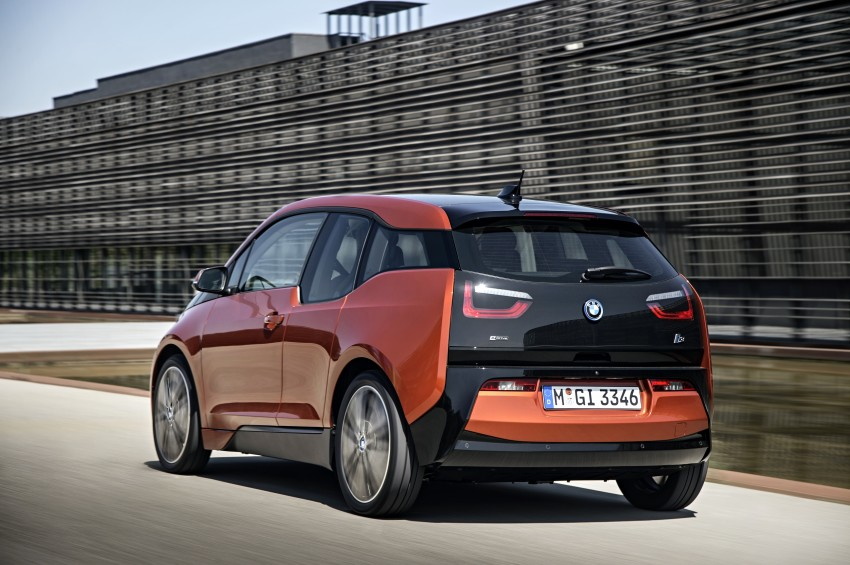 BMW i3 official debut – full details on BMW's new EV Image #190383