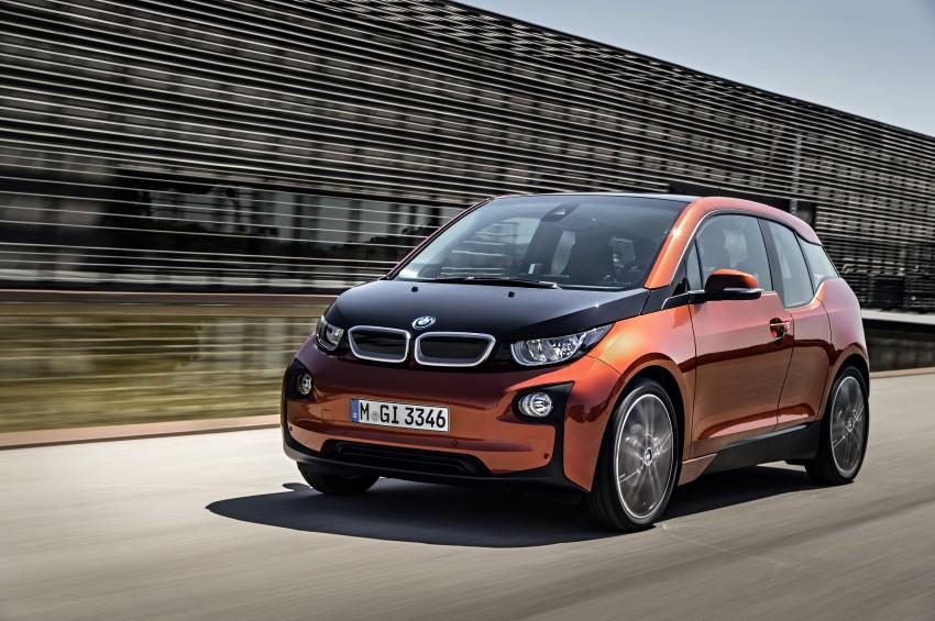 BMW i3 official debut – full details on BMW's new EV Image #190384