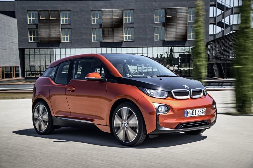 BMW i3 official debut – full details on BMW's new EV Image #190387