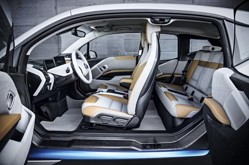BMW i3 official debut – full details on BMW's new EV Image #190296