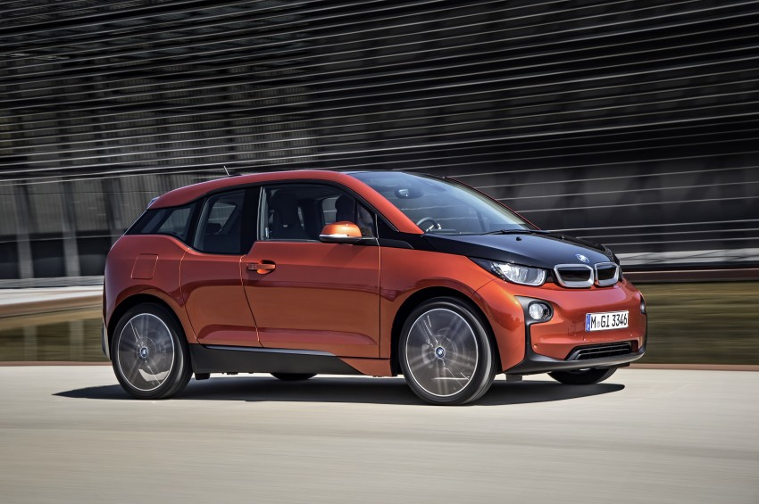 BMW i3 official debut – full details on BMW's new EV Image #190316