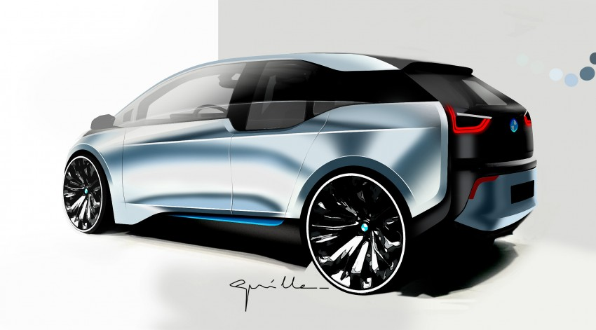 BMW i3 official debut – full details on BMW's new EV Image #190431