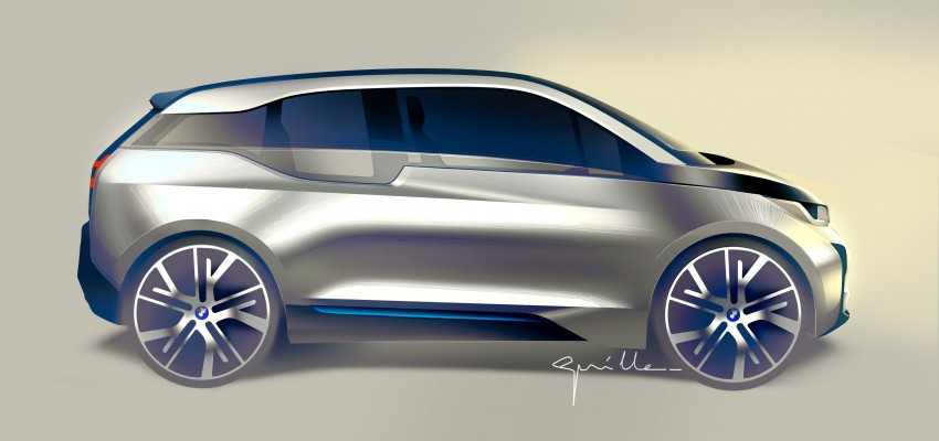 BMW i3 official debut – full details on BMW's new EV Image #190434