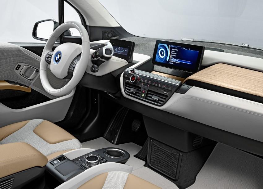 BMW i3 official debut – full details on BMW's new EV Image #190442