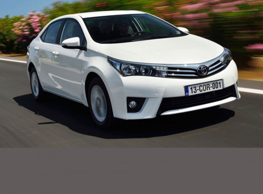 2014 Toyota Corolla – European production starts in Turkey, new batch of images released Image #186193
