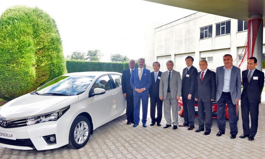 2014 Toyota Corolla – European production starts in Turkey, new batch of images released Image #185791