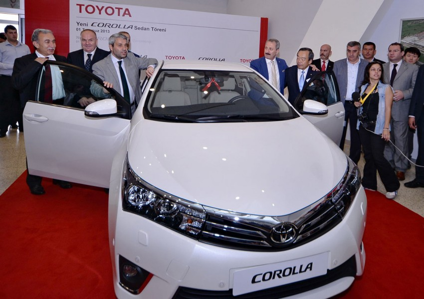 2014 Toyota Corolla – European production starts in Turkey, new batch of images released Image #185792