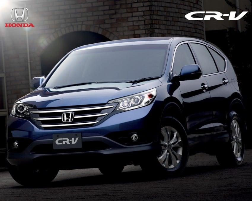 Honda CR-V 2.4L introduced – 190 hp, RM169,800 Image #184482