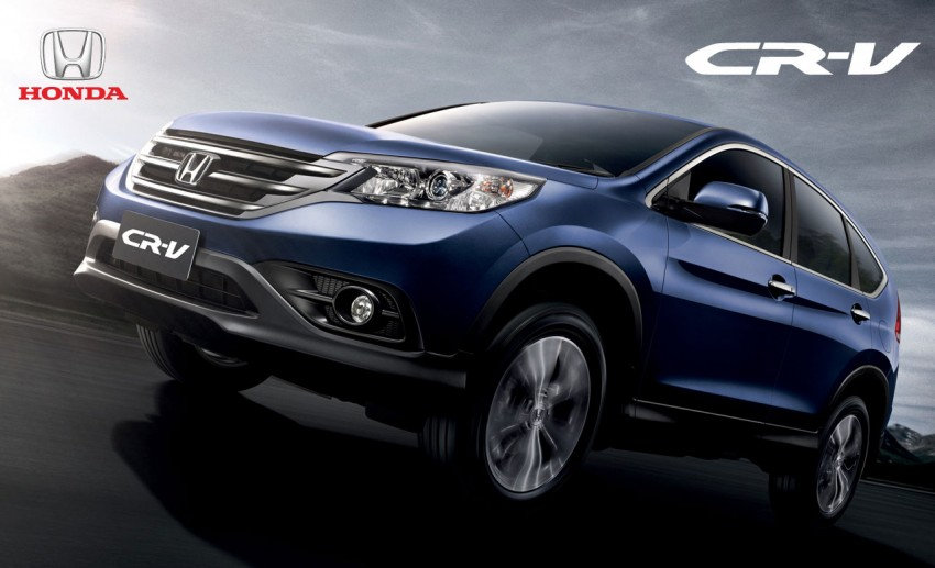 Honda CR-V 2.4L introduced – 190 hp, RM169,800 Image #184483