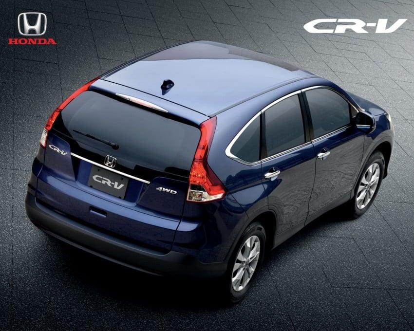 Honda CR-V 2.4L introduced – 190 hp, RM169,800 Image #184484