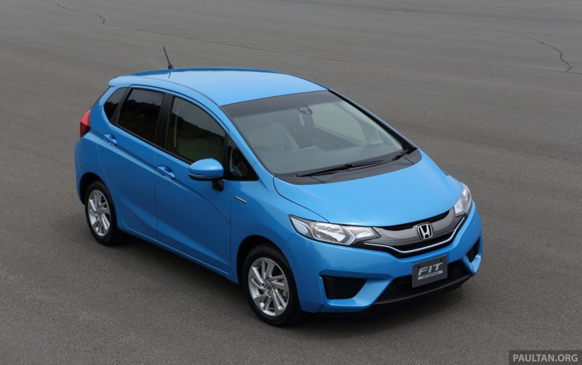 Third-gen Honda Jazz debuts; first details and pictures Image #188328