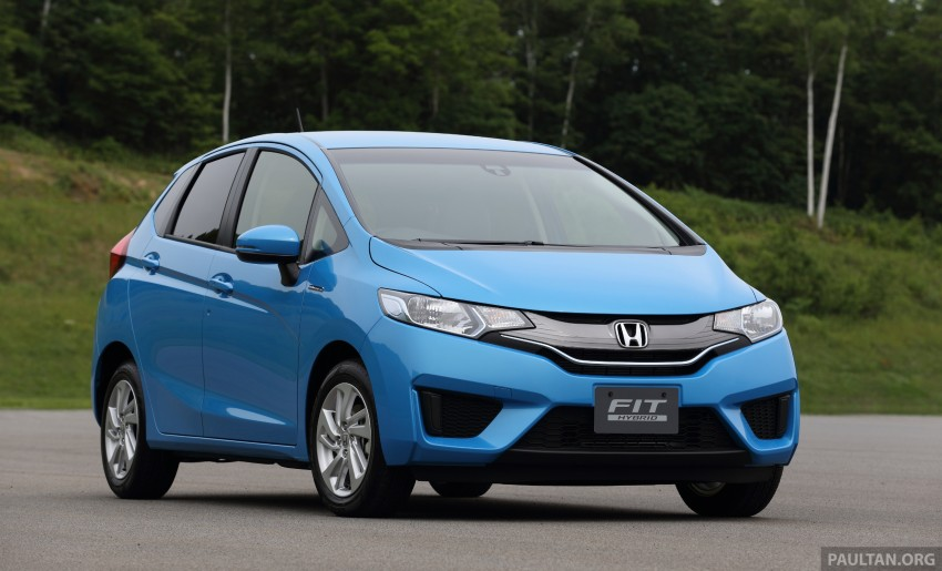 Third-gen Honda Jazz debuts; first details and pictures Image #188329