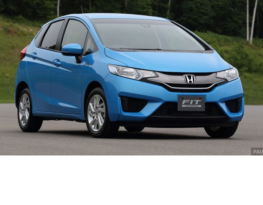 Third-gen Honda Jazz debuts; first details and pictures Image #188504