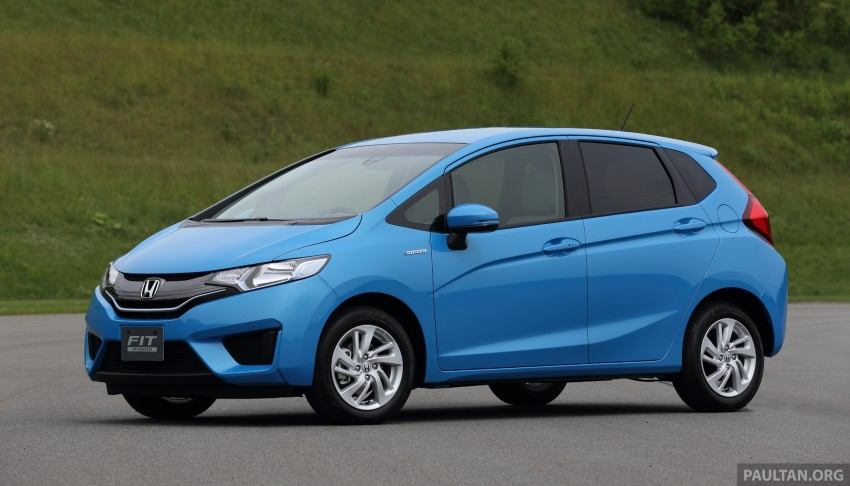 Third-gen Honda Jazz debuts; first details and pictures Image #188330