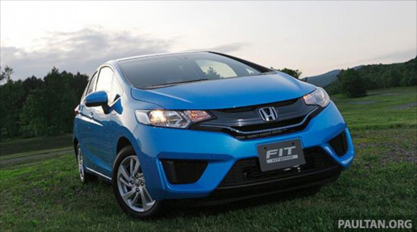 Third-gen Honda Jazz debuts; first details and pictures Image #188316
