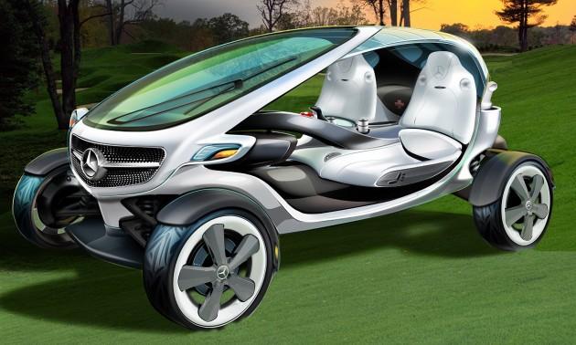 mercedes-benz vision golf cart 01